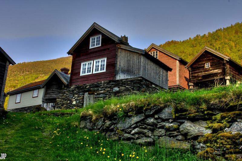 The Old Mountain Farm,Otternes in Flåm