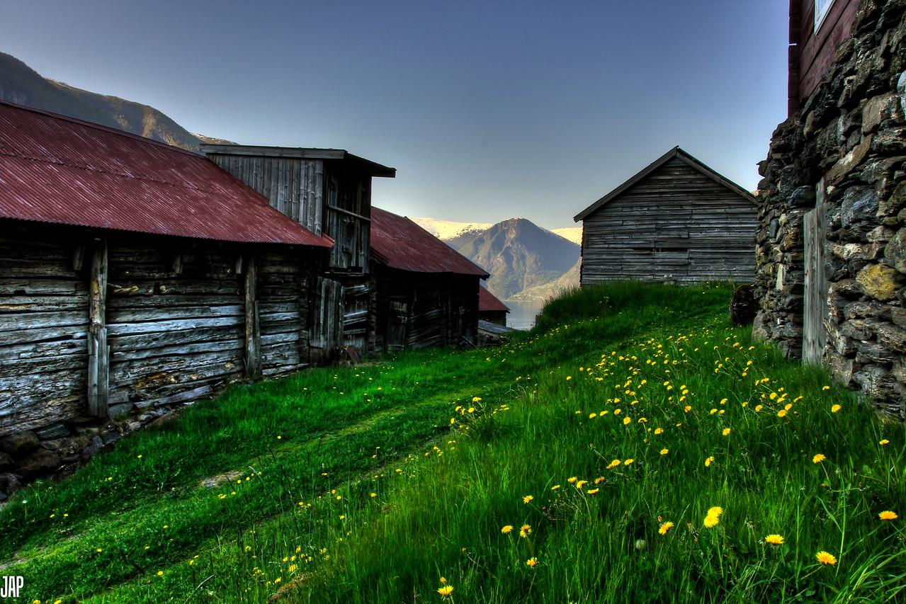 The Old Mountain Farm Otternes in Flåm