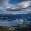 Gloppefjorden i November