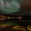 Frå Gloppen Camping og Fritidssenter mot Sørstranda