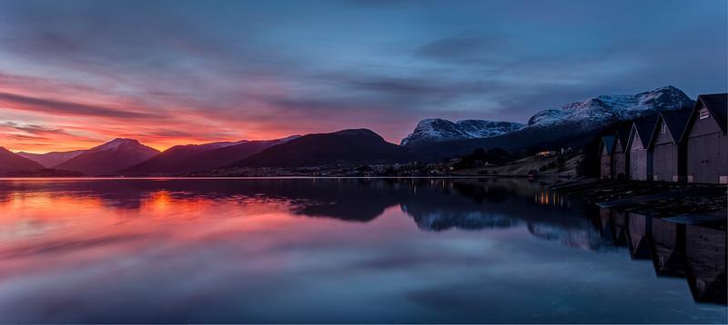 Vinterlys på Sjedu
