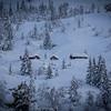 Vinter på Utvikfjellet
