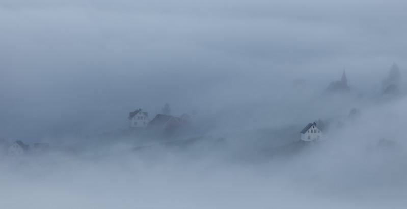 Fog in the Fjords/Tåke i Fjorden