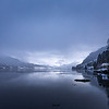 Snøveir på Gloppefjorden