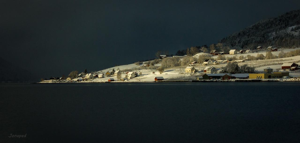 Vintersol på Hauge