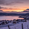 Vakker Soloppgang ein dag i Jula