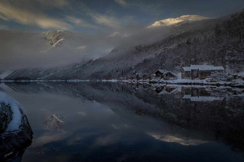 Vinter i Traudalen