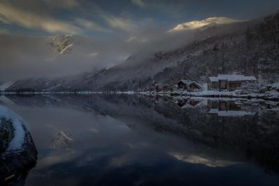 Vinter i Traudalen