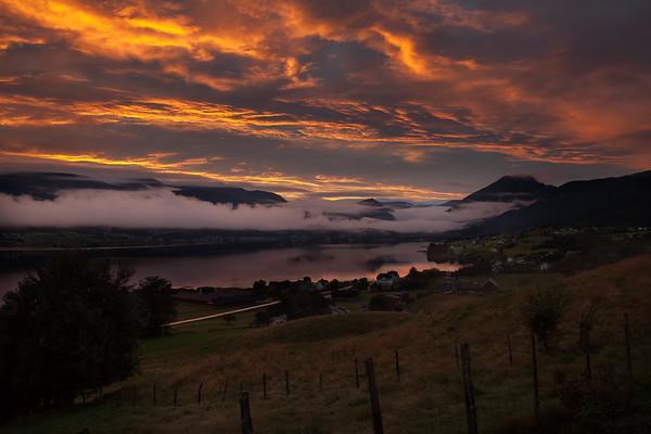 September Sunrise in Gloppen