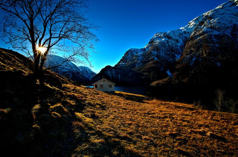 Winter in the Hyen Fjord