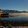 Gloppefjorden<br /> Har vore nokre kalde netter no so fjorden blir nok snart islagt..<br /> <br /> Been some very cold nights and I think we will soon have the biggest ice rink in the world..