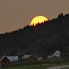 Solnedgang på Hauge/Austrheim