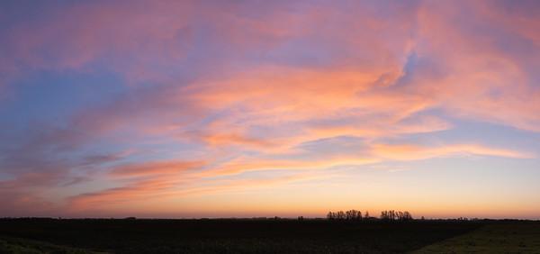 Spring Pre-dawn Cloud Magic
