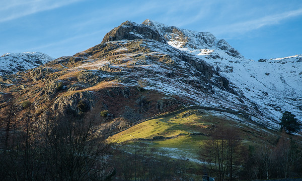 Langdale above the Sticklebarn