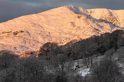 Dawn on The Old Man of Coniston
