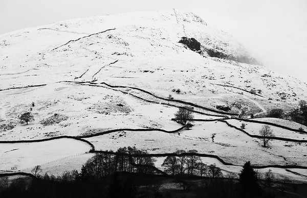 Snow on the fell