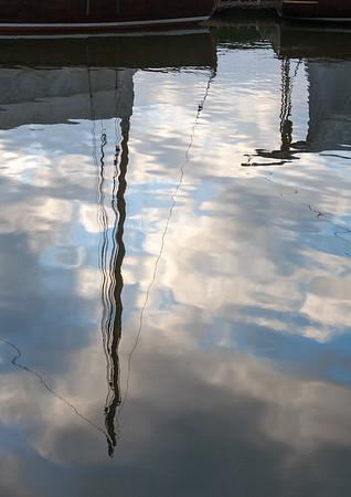 Hunters Yard - reflections 1