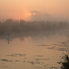 Misty morning on the Great Ouse - 3