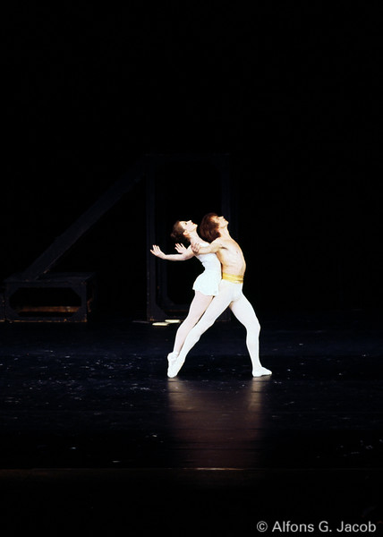 Rudolf Nureyev in Apollo, by George Balanchine, Festival Hall Salzburg