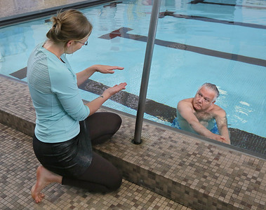 Aqua Therapy at the Y