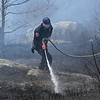 Brush Fire on Poles Hill
