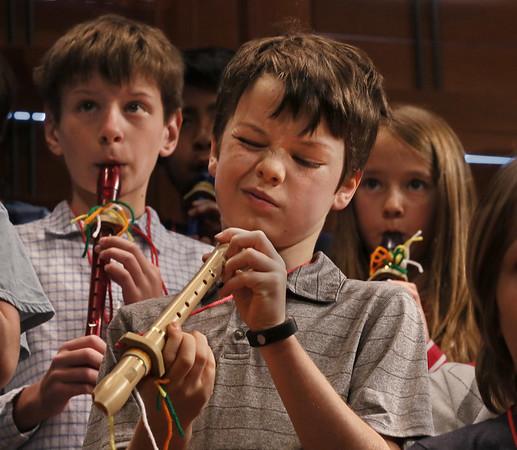 Third Grade Recorder Concert