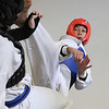 MIKE SPRINGER/Staff photo<br /> Taekwondo champion Ryan DeSouza spars with Rocco Paradise during a practice at Demitri's Taekwondo Academy in Gloucester.