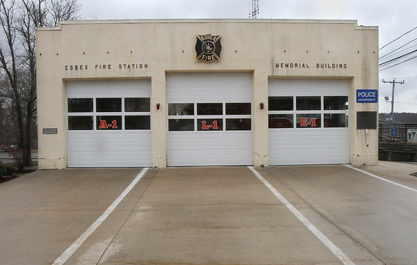 MIKE SPRINGR/Staff photo<br /> The current Essex Fire Station at 24 Martin Street.<br /> 4/2/2018