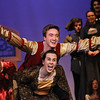 "MIKE SPRINGER/Staff photo<br /> Brendan Johnson and Jessyca Muniz play Prince Dauntless and Princess Winnifred during a rehearsal Monday for the musical ""Once Upon a Mattress"" at Gloucester High School. The play will be presented to the public in the school auditorium Thursday, Friday and Saturday at 7 p.m., with a 1 p.m. matinee on Saturday. Admission is $15 for adults; $8 for students, staff and seniors.<br /> 4/2/2018"