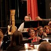 Gloucester: Yoichi Udagawa conducts the Cape Ann Symphony during their rehearsal Tuesday night. The orchestra will kick off the holiday season with their annual Holiday POPS Concert on Saturday, November 29 at 8 p.m. and Sunday, November 30 at 2 p.m.