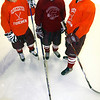 Gloucester: The Gloucester hockey team will be relying on its captains, Josh Salah, Paul Russo, and Conor Ressel this season. Photo by Kate Glass/Gloucester Daily Times Thursday, December 11, 2008