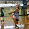 Manchester: Manchester Essex girls basketball player Lizzy Ball is one of the key returning players from last year's team. The girls are hoping to make it back to the state finals this year. Photo by Kate Glass/Gloucester Daily Times Monday, December 15, 2008