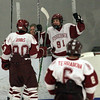 Gloucester: Gloucester's Mackenzie Quinn celebrates his first period goal during their game against Beverly in the Cape Ann Savings Bank Holiday Tournament at the Talbot Rink last night. Photo by Kate Glass/Gloucester Daily Times Monday, December 29, 2008