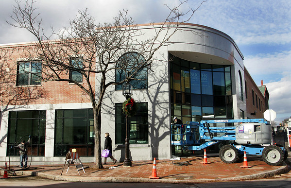 Gloucester: The new BankGloucester building on Main Street is set to open Monday, a sign to many that the economy in Gloucester is growing. Mary Muckenhoupt/Gloucester Daily Times