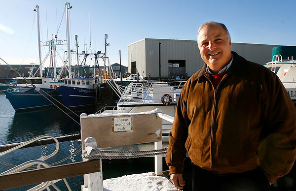 "Gloucester: Gloucester Attorney Joe Orlando's book, ""The Fisherman's Son,"" is in the works to become a movie. Photo by Kate Glass/Gloucester Daily Times Tuesday, December 23, 2008"
