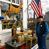 Essex: Ed Howard of Howard's Flying Dragon Antiques is working with the Essex Merchants Group to come up with a slogan for Essex. The group is holding a contest to come up with the slogan. Photo by Kate Glass/Gloucester Daily Times Monday, December 15, 2008