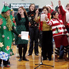 "Manchester: The faculty at Manchester Essex High School sang ""Jingle Bell Rock"" during the school's holiday concert Friday afternoon.  Mary Muckenhoupt/Gloucester Daily Times"
