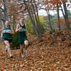 Manchester: Manchester Essex runners Eric Kimball, Caroline Martin, Ben Girard, will be competing in the state cross country meet at Franklin Park in Boston on Saturday.  Photo by Kate Glass/Gloucester Daily Times Thursday, November 13, 2008