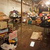 Gloucester:  Water from heavy rains overnight caused a significant amount of water to leak into the basement of the Action Inc. building damaging toys being stored for Toys for Tots. Mary Muckenhoupt/Gloucester Daily Times
