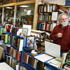 Gloucester: Bob Ritchie, owner of Dogtown Books on Main Street in Gloucester, says a lot of his customers have been commenting on how nice it is to have a real Main Street. Photo by Kate Glass/Gloucester Daily Times Monday, December 1, 2008