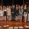 Desi Smith /Gloucester Daily Times.       19 new Rockport High School students were inducted to the National Honor Society Wednesday night at the Shalin Liu Performance Center in Rockport.<br /> April 9,2013.
