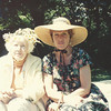 Courtesy photo<br /> The late Lura Phillips (1900-1994) , left, is pictured here with close friend Gunilla Caulfield.  Caulfield will present Rockport selectmen with a check for more than $100,000 from Phillips' estate that will go toward restoration work at Millbrook Meadow, the seaside park that Lura helped to save from becoming a parking lot in the 1950s.