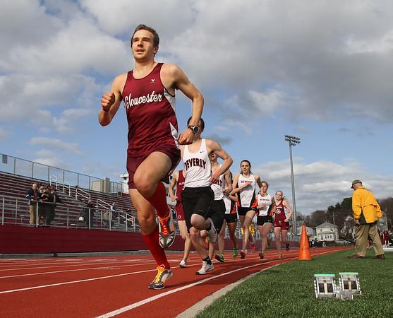 Gloucester vs. Beverly Track Meet