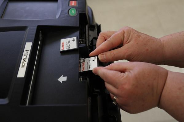 Rockport's New Voting Machines