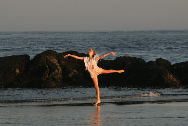 Ballet at the Beach
