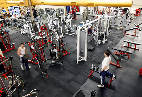 Gloucester: Fitness Zone in the Blackburn Industrial Park features a wide array of machines for resistance training. Photo by Kate Glass/Gloucester Daily Times