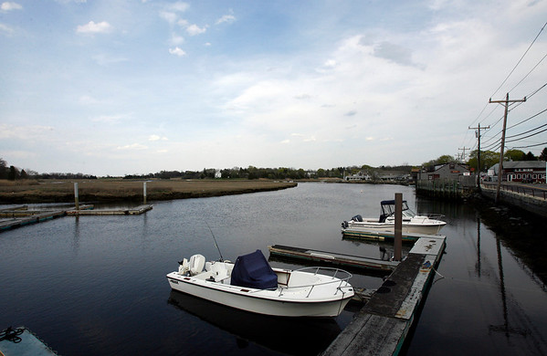 Essex: Plans are in the works to add more docks along Main Street in Essex so boaters could dock and eat or shop downtown. Photo by Kate Glass/Gloucester Daily Times Wednesday, April 29, 2009