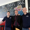 Essex: Ryan Cox, Noah Goldstein, and Brad Atkinson all quit their jobs to open The Farm Bar & Grille on Western Ave in Essex. The restaurant, which is one of several new businesses in town will open today. Photo by Kate Glass/Gloucester Daily Times Tuesday, April 14, 2009