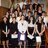 Rockport: Twenty-seven students from Rockport High School were inducted into the National Honor Society during a ceremony Tuesday night. The students are (listed in alphabetical order): Nicolette Ambrose, Alexander Aparo, Colby Balestraci, Sarina Barbara, Sarah Brisson, Benjamin Clarkson, Ethan Clarkson, Morgan Downs, Rebecca Endicott, Hannah Evans, Andreu Glasmann, Rebecca Gray, Tchelsea Grenfell, Colleen Hansbury, Gillian Hurst, Alexa Jorgensson, Dichyant Mahat, Sabrina McCarthy, Clayton Morrissey, Akiyo Nishimiya, Emma Ouellette, Elizabeth Saville, Olivia Smith, Molly Sonia, Brenda Tran, Molly Wilson and Anna Yoors. Photo by Kate Glass/Gloucester Daily Times Tuesday, April 7, 2009