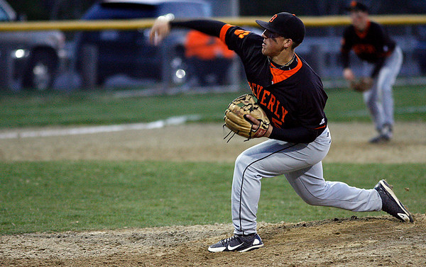 Gloucester: Beverly's Pete Kallas got the start against Gloucester at Nate Ross Field last night. Photo by Kate Glass/Gloucester Daily Times Wednesday, April 29, 2009
